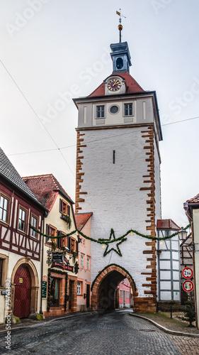 Leinwanddruck Bild Prichsenstadt City