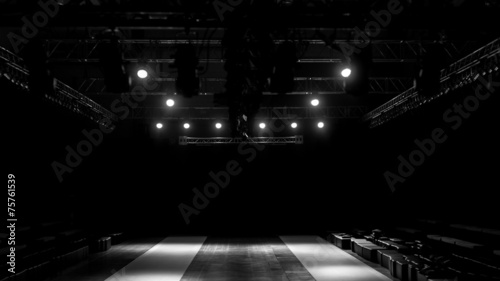 Leinwanddruck Bild Fashion show stage