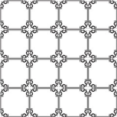 Seamless background in the form of patterned cells