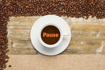 Kaffee - Konzept