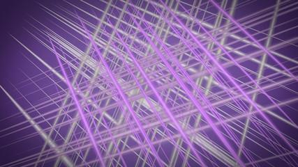 fantastic animation – stripe object in motion – loop HD