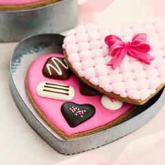 Chocolate box cookies