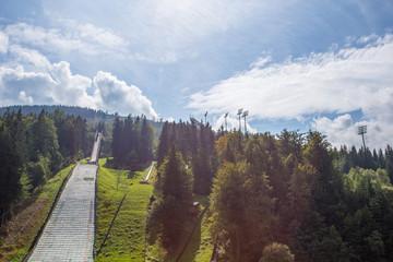 Ski jump Harrachov