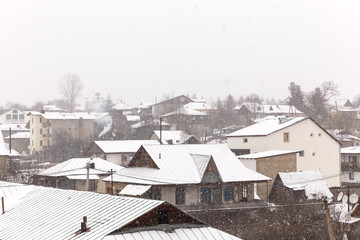 The village of Bakuriani-Georgia