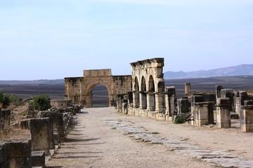 UNESCO Welterbestätte Volubilis - Marokko
