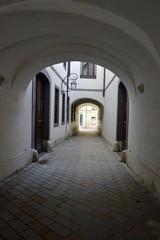арка, Братислава, врата, проход