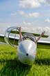 Leinwanddruck Bild - Fun in glider