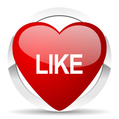 like valentine icon