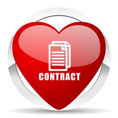 contract valentine icon