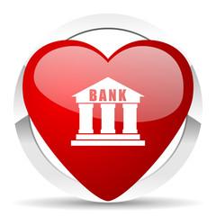 bank valentine icon