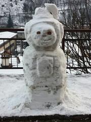 Pupazzo di neve marziano