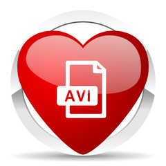 avi file valentine icon
