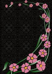 Dal ve çiçekler 2