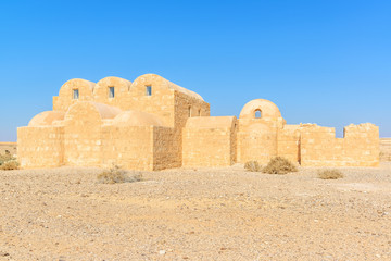 Qasr Amra is a desert castles located in eastern Jordan