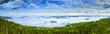 canvas print picture - Pielinen lake