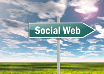 Signpost Social Web