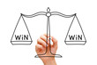 Win Win Scale Concept