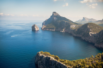 Kap de Formentor vom Mirador de sa creuta