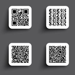 ICONS SIMPLE QR CODE