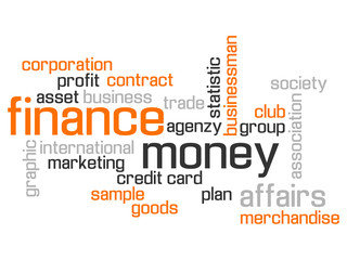FINANCE WORLD CLOUD CONCEPT TEST AND MORE ORANGE