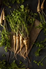 Raw Organic Parsley Root