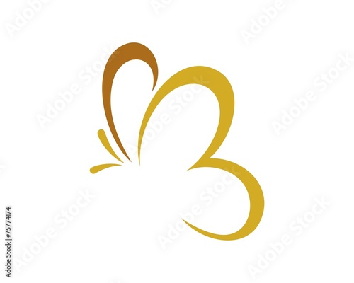 butterfly logo template v.9 - 75774174