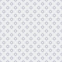 Vector Background #Flower Dot Pattern, Gray