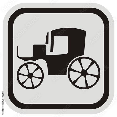 old car, frame