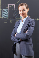Photo of businesswoman