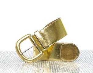 Woman leather belt