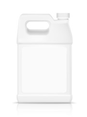 blank plastic bottle for detergent