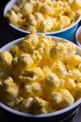 Cups of popcorn