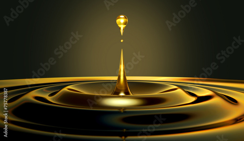 Oil Droplet - 75778387