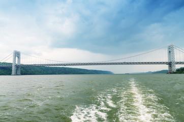 George Washington Bridge from Hudson, New York