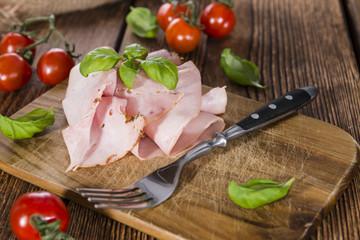 Boiled Ham (close-up shot)