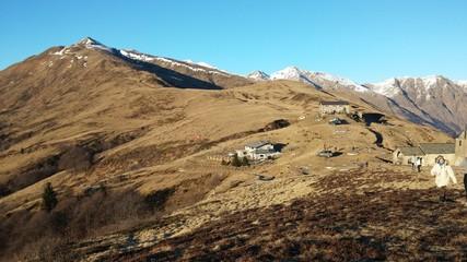 Alpeggio montano