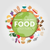 Fototapety Nutrire il pianeta