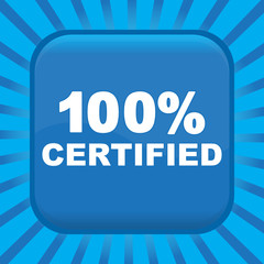 100% CERTIFIED ICON
