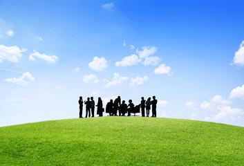 Business Collaboration Colleague Occupation Teamwork Concept