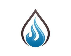 Flame Logo Template v.7