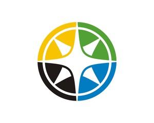 compass logo template v.2