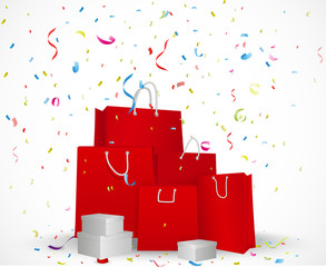 Sale celebration background concept