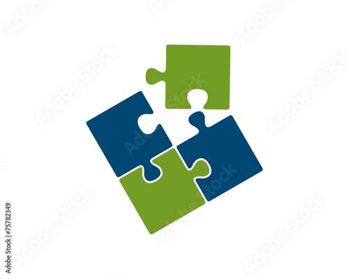 puzzle logo - 75782349