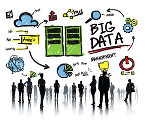 Diversity Business People Big Data Corporate Concept