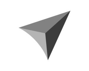 triangle logo template v.3