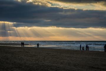 Strand in Noordwijk Holland