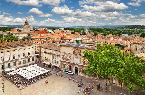 Papiers peints Pays d Europe Medieval town Avignon, France