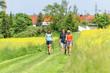 Im Grünen walken