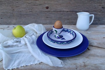 still life with en egg