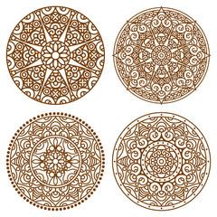 mandala lace set